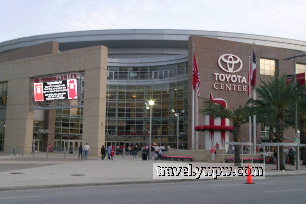 Yao Ming Houston Rockets And Toyota Center